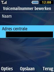 Samsung B2710 Xcover 271 - Voicemail - Handmatig instellen - Stap 8