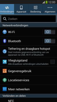 Samsung N9005 Galaxy Note III LTE - WiFi - Verbinden met een netwerk - Stap 4