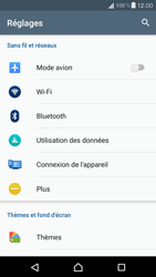 Sony F5321 Xperia X Compact - WiFi et Bluetooth - Configuration manuelle - Étape 4