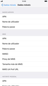 Apple iPhone 8 Plus - iOS 12 - MMS - Como configurar MMS -  7