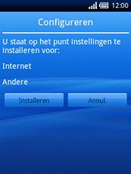 Sony Ericsson Xperia X10 Mini - Automatisch instellen - Automatisch Internet instellen - Stap 4