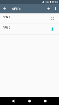 Sony Xperia L2 - Internet - handmatig instellen - Stap 23