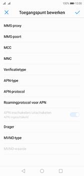 Huawei P20 - Internet - handmatig instellen - Stap 13