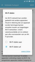 Samsung Galaxy S7 - WiFi - Mobiele hotspot instellen - Stap 6