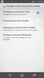 Sony Xpéria Z3 - Internet et connexion - Utiliser le mode modem par USB - Étape 9