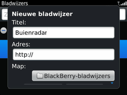 BlackBerry 9360 Curve - Internet - hoe te internetten - Stap 8