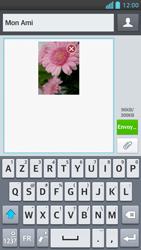 LG Optimus F5 - Contact, Appels, SMS/MMS - Envoyer un MMS - Étape 13