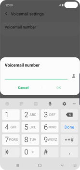 Samsung Galaxy S10 Plus - Voicemail - Manual configuration - Step 11