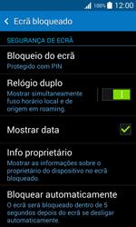 Samsung Galaxy Trend 2 Lite - Segurança - Como ativar o código de bloqueio do ecrã -  11