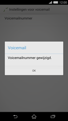 Sony D6503 Xperia Z2 - Voicemail - handmatig instellen - Stap 9