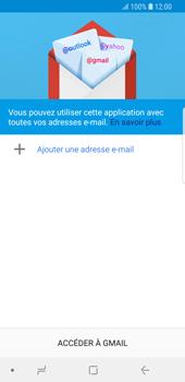 Samsung Galaxy S9 - E-mails - Ajouter ou modifier votre compte Gmail - Étape 6