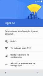 Sony Xperia XZ - Android Nougat - Primeiros passos - Como ligar o telemóvel pela primeira vez -  8