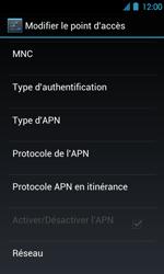 Acer Liquid Glow E330 - MMS - Configuration manuelle - Étape 12