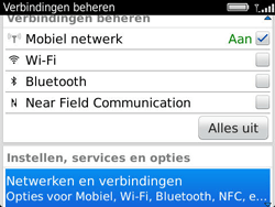 BlackBerry 9360 Curve - Bellen - in het buitenland - Stap 4
