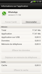 HTC One S - Applications - Supprimer une application - Étape 6
