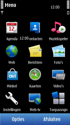 Nokia N8-00 - SMS - handmatig instellen - Stap 3