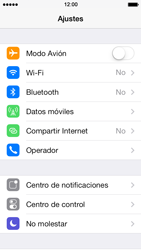 Apple iPhone 5s - Internet - Activar o desactivar la conexión de datos - Paso 3