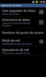 Samsung I8160 Galaxy Ace II - Red - Seleccionar el tipo de red - Paso 6