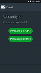 Doro 8035 - E-mail - Account instellen (IMAP zonder SMTP-verificatie) - Stap 7