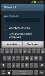 Samsung I9105P Galaxy S II Plus - WiFi - Handmatig instellen - Stap 7
