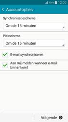 Samsung A500FU Galaxy A5 - E-mail - Handmatig instellen - Stap 17