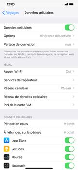 Apple iPhone XS Max - Internet et connexion - Activer la 4G - Étape 4