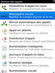 BlackBerry 9810 Torch - Messagerie vocale - Configuration manuelle - Étape 5