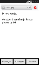 LG P940 PRADA phone by LG - E-mail - e-mail versturen - Stap 12