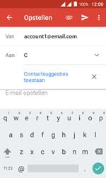 Alcatel Pixi 4 (4) - E-mail - Hoe te versturen - Stap 6