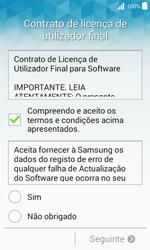 Samsung Galaxy J1 - Primeiros passos - Como ligar o telemóvel pela primeira vez -  7