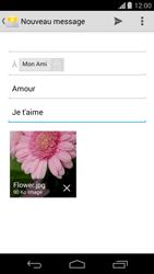 Motorola Moto G - E-mail - Envoi d