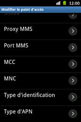Samsung S6500D Galaxy Mini 2 - MMS - Configuration manuelle - Étape 13