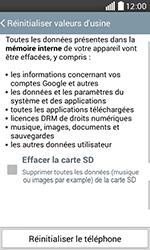 LG H220 Joy - Device maintenance - Retour aux réglages usine - Étape 7