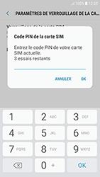 Samsung Galaxy J3 (2017) - Sécuriser votre mobile - Personnaliser le code PIN de votre carte SIM - Étape 8