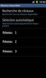 Samsung I9100 Galaxy S II - Réseau - utilisation à l'étranger - Étape 11