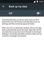 Nokia 5 - Device maintenance - Create a backup of your data - Step 6