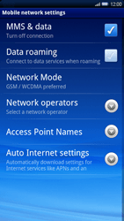 Sony Ericsson Xperia X10 - Internet - Manual configuration - Step 6