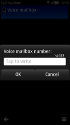 Nokia 700 - Voicemail - Manual configuration - Step 7