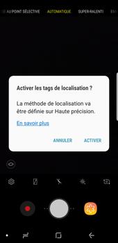 Samsung Galaxy S9 - Photos, vidéos, musique - Créer une vidéo - Étape 5