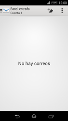 Sony D2203 Xperia E3 - E-mail - Configurar correo electrónico - Paso 4