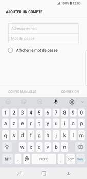 Samsung Galaxy S8 - Android Oreo - E-mail - Configuration manuelle - Étape 8