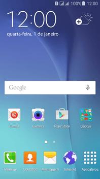 Samsung Galaxy J7 - Chamadas - Como bloquear chamadas de um número específico - Etapa 1