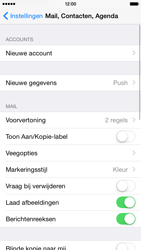Apple iPhone 6 iOS 8 - E-mail - handmatig instellen - Stap 4