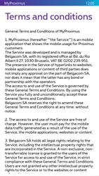 Nokia Lumia 830 - Applications - MyProximus - Step 11