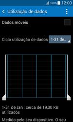Samsung Galaxy Core II - Internet no telemóvel - Como ativar os dados móveis -  5