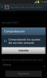 Samsung Galaxy S3 Mini - E-mail - Configurar correo electrónico - Paso 11