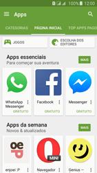 Samsung Galaxy J5 - Aplicativos - Como baixar aplicativos - Etapa 5