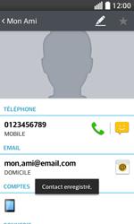 LG F70 - Contact, Appels, SMS/MMS - Ajouter un contact - Étape 9