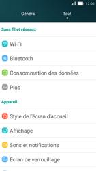 Huawei Y5 - Internet et connexion - Partager votre connexion en Wi-Fi - Étape 3