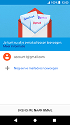 Sony Xperia X Compact - Android Oreo - E-mail - e-mail instellen (gmail) - Stap 13